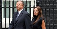Президент Азербайджана Ильхам Алиев с супругой Мехрибан Алиевой. Архивное фото