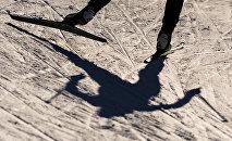 Лыжачы. Архивдик сүрөт