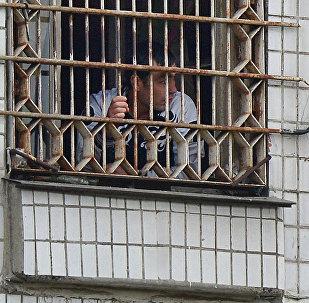 Мигранты, подлежащие депортации, в Центре содержания иностранных граждан. Архивное фото