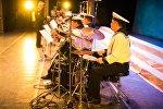 Концерт ансамбля песни и пляски Черноморского флота РФ в Бишкеке