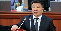Архивное фото депутата Жогорку Кенеша от фракции Ата Мекен Алмамбета Шыкмаматова