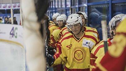 Архивное фото спортсменов сборной Кыргызстана по хоккею