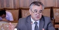 Лидер фракции Ата-Мекен Омурбек Текебаев