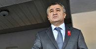 Ата Мекен фракциясынын лидери Өмүрбек Текебаевдин архивдик сүрөтү