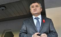 Политик, экс-депутат Жогорку Кенеша Омурбек Текебаев. Архивное фото