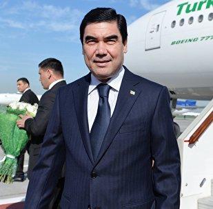 Түркмөнстандын президенти Гурбангулы Бердымухамедовдун архивдик сүрөтү