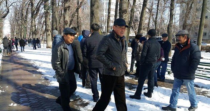 Митинг вподдержку арестованного оппозиционера начался встолице Киргизии