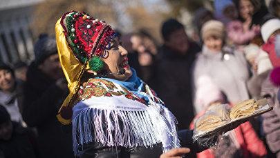 Традиционный праздник проводов зимы — Масленица. Архивное фото