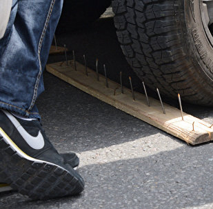 Попытки перекрытия дорог. Архивное фото