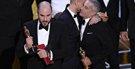 Ла-ла Ленд тасмасынын режиссеру Джордан Хоровиц жаңылыштан алган Оскар менен