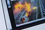 ДТП в Греции с участием сына владельца сети супермаркетов Jumbo Апостолоса Вакакиса, Йоргос, в результате которого погибли четыре человека. Фото с сайта Youtube