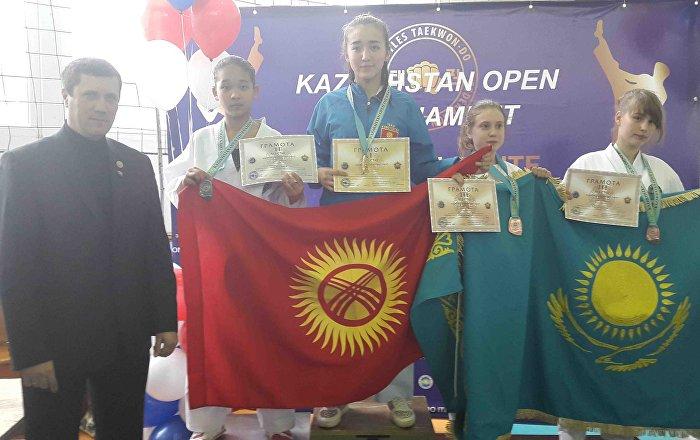 Турнир по таэквондо в Казахстане