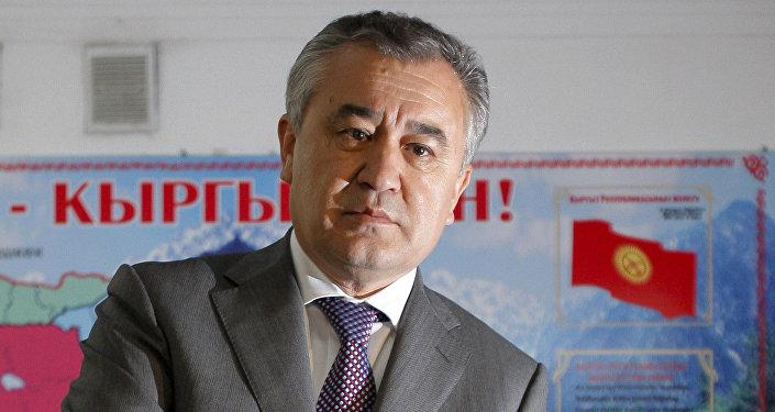Лидер политической партии Ата-Мекен Омурбек Текебаев. Архивное фото
