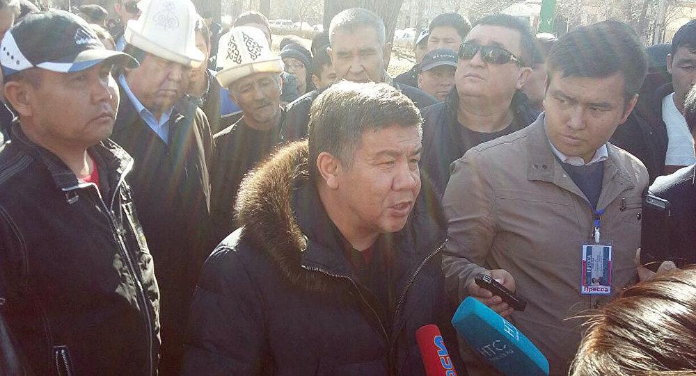 Депутата Жогорку Кенеша Омурбека Текебаева арестовали надва месяца