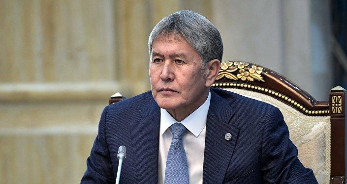 Архинвое фото экс-президента Кыргызстана Алмазбека Атамбаева