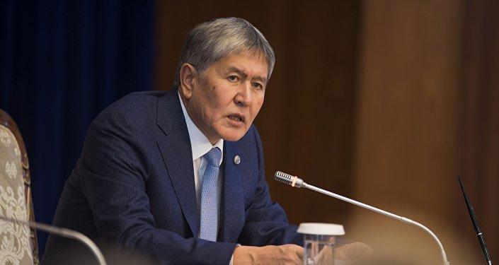 Атамбаев: революции вКыргызстане небудет
