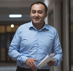 Архивное фото генерального директора ОТРК Илима Карыпбекова