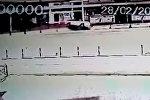 Илим Карыпбековдун кырсыкка кабылган учуру видеокамерага түшүп калган