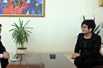 Министр труда и социального развития КР Таалайкуль Исакунова встретилась с Российским коллегой Министром труда и социальной защиты Российской Федерации Максимом Топилиным