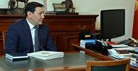 Председатель Государственного комитета национальной безопасности страны Абдиль Сегизбаев. Архивное фото
