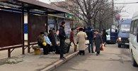 Бишкектин айрым бөлүктөрүндө аялдамалар оңдоп-түзөлө баштады