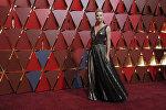 Голливудская актриса Шарлиз Терон на церемонии вручения американской кинопремии Оскар в Калифорнии