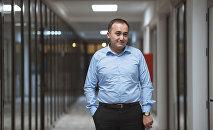 Генеральный директор КТРК Илим Карыпбеков. Архивное фото