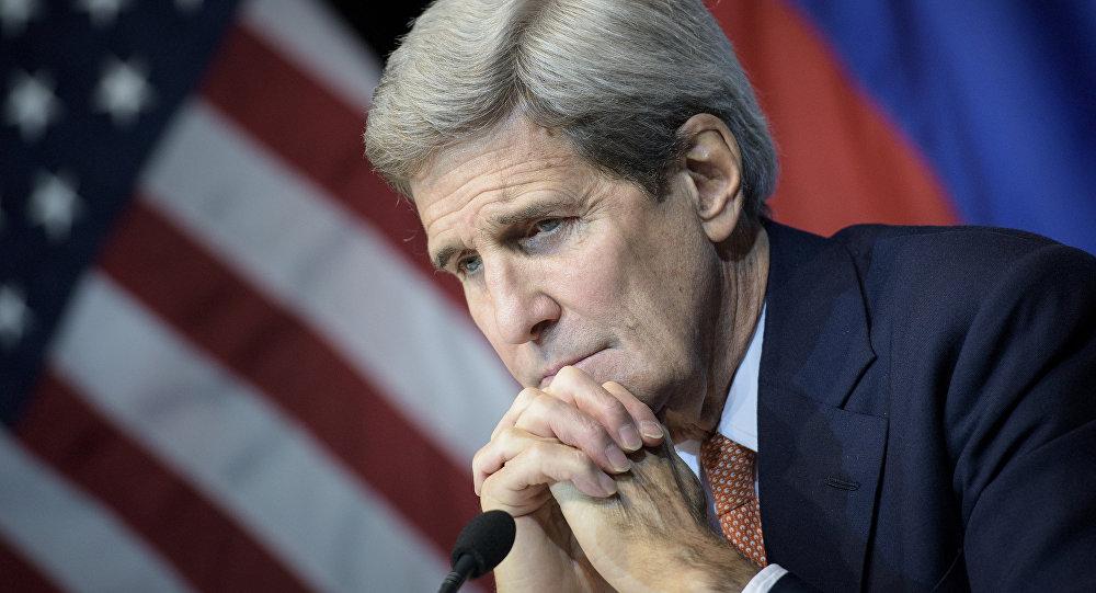 Архивное фото бывшего главы Госдепартамента США Джона Керри