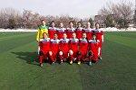 Кыргызстандын футбол боюнча кыздардын курама командасы (19 жашка чейин). Архив