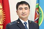 Архивное фото пресс-секретаря Государственной таможенной службы КР Жаманака Мусурканова