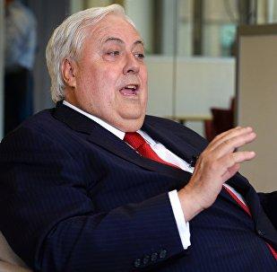Архивное фото известного австралийского миллиардера и политика Клайва Палмера в Сиднее
