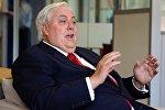 Австралиялык миллиардер жана саясатчы Клайв Палмердин архивдик сүрөтү