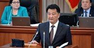 Министр здравоохранения Кыргызской Республики Талант Батыралиев. Архивное фото