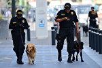 Перу полиция кызматкерлери. Архивдик сүрөт