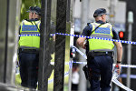 Австралия полиция кызматкери. Архивдик сүрөт