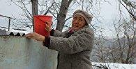 Жеңиш Калдыбаевдин апасы Бааркан апа