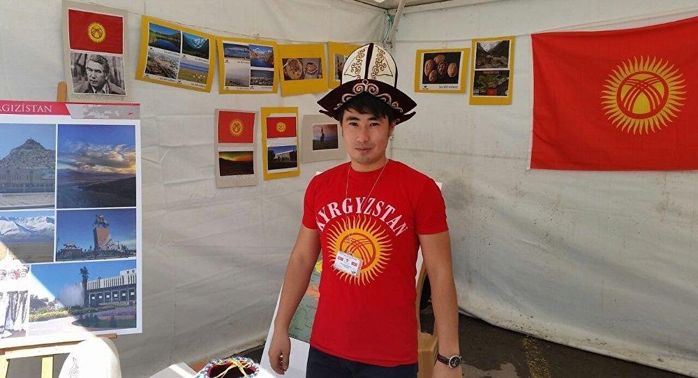 Түркияда окуган Манасбек Максутов: Кыргызстанды жакшы жагынан тааныталы дедик