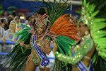 Рио-де-Жанейро шаарындагы карнавал учурунда