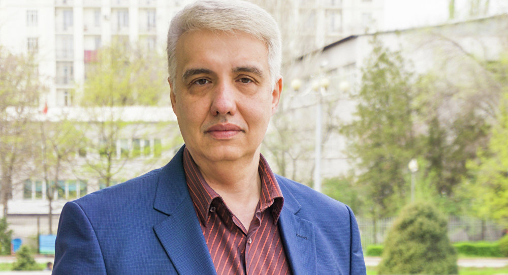 Архивное фото политолога Игоря Шестакова