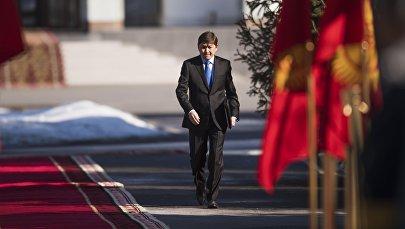 Мурдагы премьер-министр, КСДП партиясынын төрагасынын орун басары Сапар Исаков. Архив