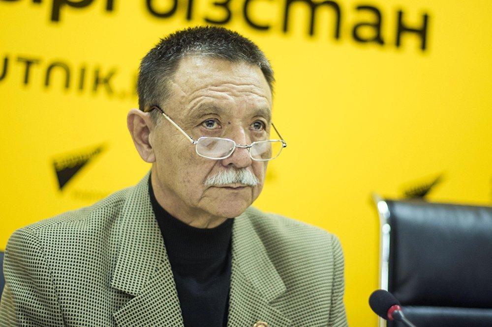Руководитель Представительства международного союза Наследники Победы в Кыргызстане Хабибула Газизов