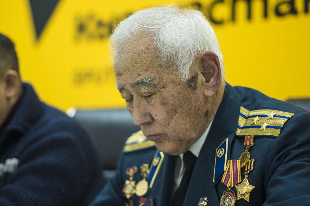 Заместитель руководителя Республиканской организации ветеранов войны, Вооруженных сил и правоохранительных органов Качкын Саргазаков