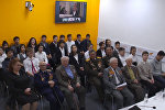 О важности мирного взаимодействия стран рассказали в пресс-центре Sputnik Кыргызстан