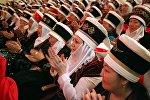 Ош шаарынын мэриясы Аялдардын эл аралык күнүнө карата уюштурган майрамдык салтанаты