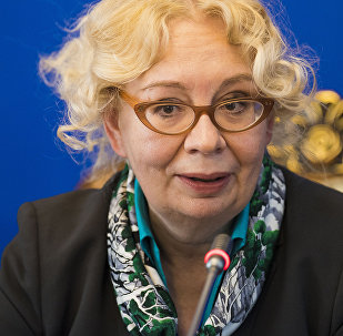 Министр по интеграции и макроэкономике Евразийской экономической комиссии (ЕЭК) Татьяна Валовая. Архивное фото