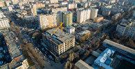 Бишкек шаарына көрүнүш. Архивдик сүрөт