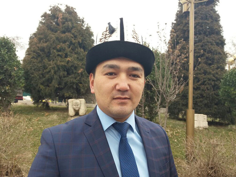 Вице-мэр города Ош Нурбек Кадыров