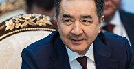 Казакстандын экс-премьер-министри Бакытжан Сагинтаев. Архив