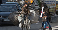 На одной из улиц Дамаска в первый день перемирия. Архивное фото