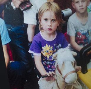 Пятилетняя жительница села Ивановка Ысык-Атинского района Лидия Кашкарова